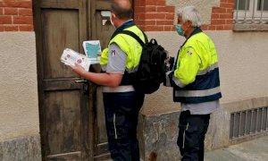 Cuneo, l'impegno nella lotta alla pandemia dei volontari della Protezione Civile