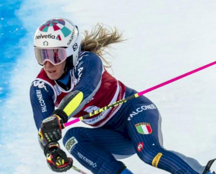 Sci alpino, 'boom' di ascolti per le imprese di Marta Bassino in tv