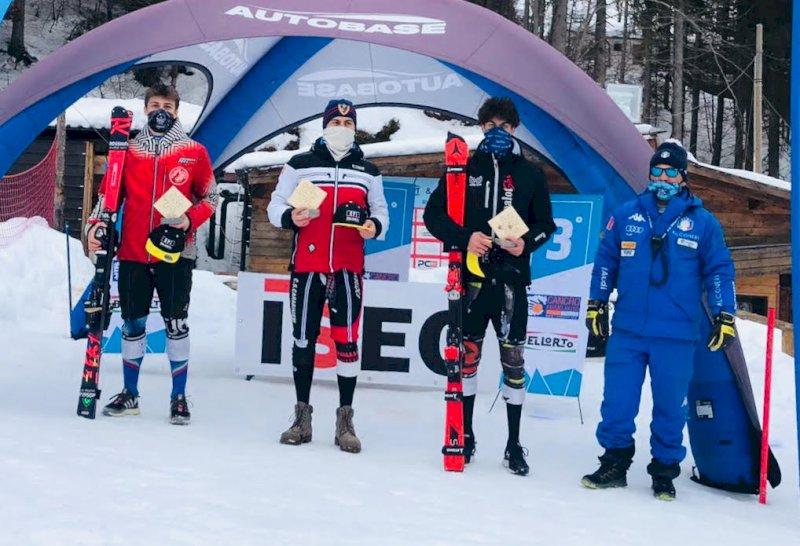 Sci alpino, nel secondo Slalom FIS Edoardo Saracco secondo dei Giovani e primo degli Aspiranti