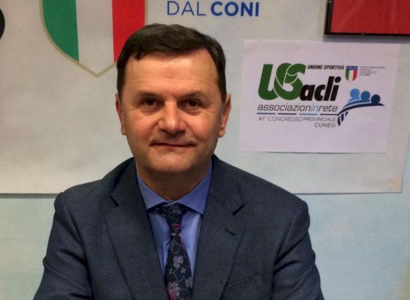 Attilio Degioanni confermato alla guida dell'Unione Sportiva ACLI provinciale