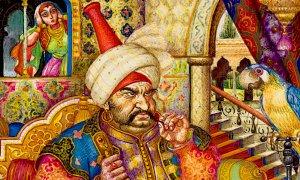 Quando alla vigilia di carnevale il sultano triste passò per le vie di Cuneo e Savigliano