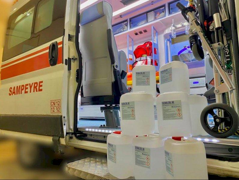 Sampeyre, i ringraziamenti del comitato della Croce Rossa di Sampeyre a chi l'ha sostenuto
