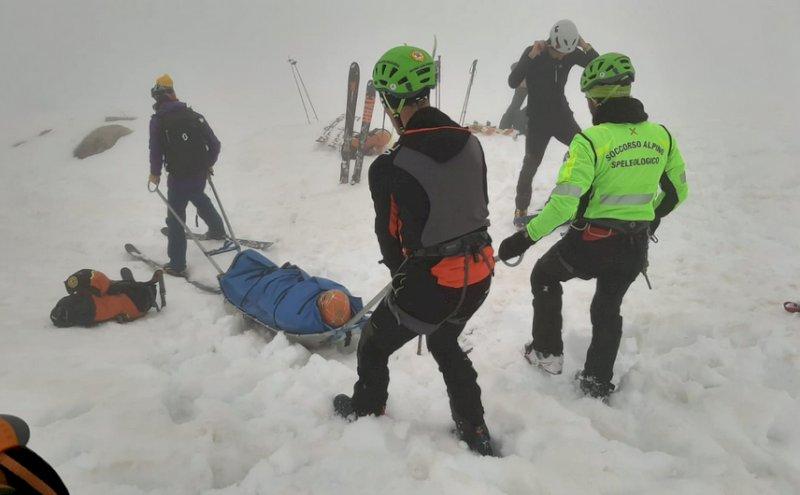 Scialpinista ferita sul monte Tibert, i soccorsi costretti a intervenire a piedi causa nebbia