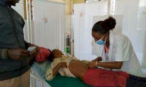 La Croce Rossa di Melle manda in Etiopia uno zaino attrezzato per interventi di emergenza pediatrica