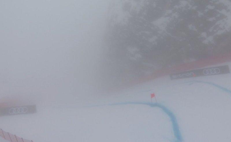 Sci alpino, nebbia a Cortina: cancellato anche il SuperG