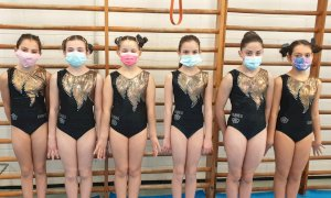 Prima gara stagionale per il settore agonistico di Artistica della Cuneoginnastica