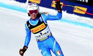 Marta Bassino non prenderà parte alla discesa libera del Mondiale di Cortina