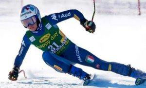 Marta Bassino dodicesima nel SuperG della combinata dei Mondiali di Cortina