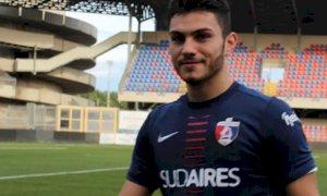 Calcio, Patrick Enrici firma il suo primo contratto da professionista con la Sambenedettese