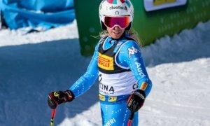 Sci alpino, sesto posto per Marta Bassino nella combinata dei Mondiali di Cortina