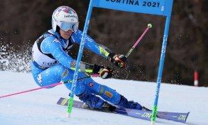 È il giorno del Gigante dei Mondiali di Cortina: Marta Bassino in pista col pettorale numero 2