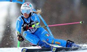 Marta Bassino solo quindicesima nella prima manche del Gigante dei Mondiali di Cortina