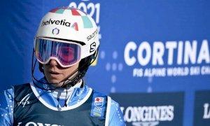 Marta Bassino, niente bis: è tredicesima nel Gigante dei Mondiali di Cortina