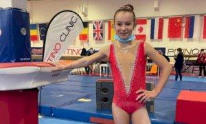 Le atlete della Cuneoginnastica protagoniste nel campionato regionale Gold Allieve