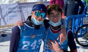 Cuneo 1198 Triteam protagonista con due secondi posti ai Campionati Nazionali di Winter Triathlon