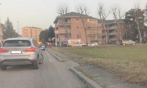 Quattro feriti nello scontro fra tre auto a San Rocco Castagnaretta
