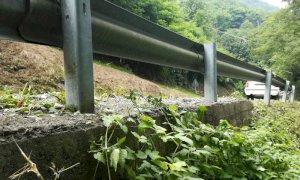 Progetto esecutivo per le barriere di sicurezza stradale verso il Colle dell'Agnello