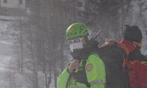 Scalatore caduto in val Maira, il Soccorso Alpino tenta una difficile operazione di recupero