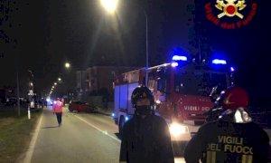 Un morto e due feriti gravi nello scontro tra due auto a Dronero