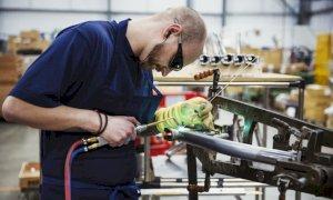 La produzione manifatturiera del Piemonte nel 2020 è calata del 5,9 per cento