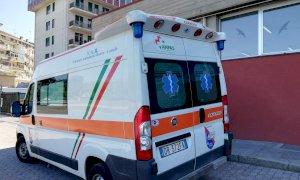 Ciclista ricoverato dopo lo scontro con un'auto a Bernezzo: non è in pericolo di vita