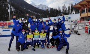 Biathlon, Marco Barale vince il bronzo nella staffetta Youth dei Mondiali Giovanili