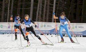 Sci di fondo, argento per Matilde Giordano nella gara cross dei Campionati Italiani Under 14