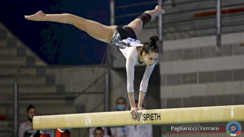 Cuneoginnastica, splendida prova di Anna Dalmasso in Serie B