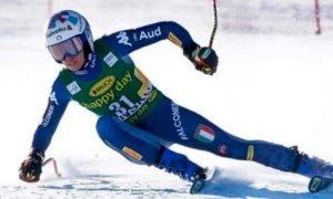 Sci alpino, Marta Bassino quinta dopo la prima manche del Gigante di Jasna