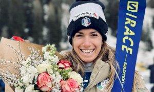 Sci alpino, Marta Bassino vince la Coppa di gigante