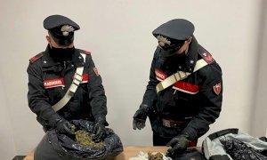 Dalla Catalogna alla valle Stura per spacciare: arrestato con quasi 4 chili di marijuana in auto
