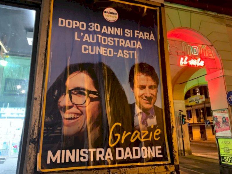 """La provocazione di Martinetti: """"Macchè Asti-Cuneo, chiamiamola autostrada delle Stelle''"""