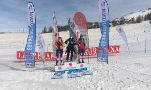 Sci alpino, Melissa Astegiano prima Aspirante nel Gigante Fis del Sestriere