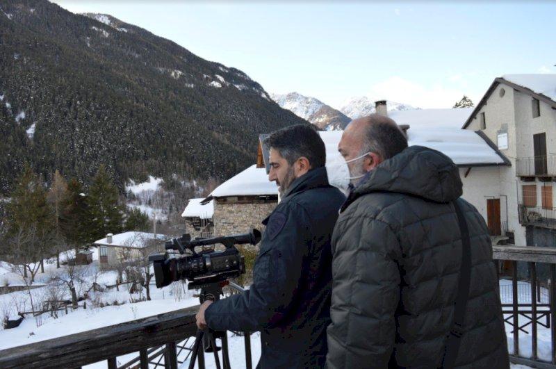 Il Cuneese ancora protagonista in tv, domenica le telecamere di Italia Uno puntate sulla valle Stura