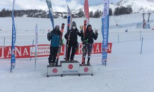 Sci alpino, Melissa Astegiano seconda nel Grand Prix Italia Giovani