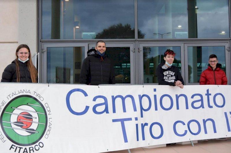 Tiro con l'arco, il Clarascum manda quattro atleti a premi al campionato italiano di Rimini