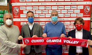 Passaggio di consegne in casa Cuneo Granda Volley: Josè Cartellone nuovo presidente