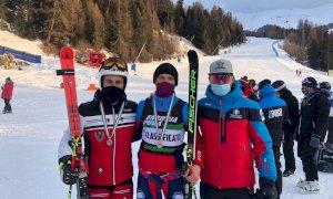 Sci alpino, Campionati Italiani Aspiranti: doppietta Allasina-Saracco nel Gigante maschile