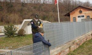 """Una nuova recinzione per il memoriale della 'Cuneense': """"Grazie agli alpini del gruppo Cuneo Centro"""""""