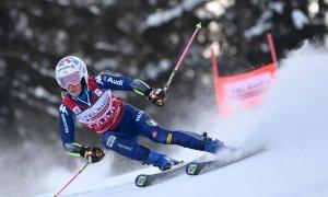 Sci alpino, Marta Bassino seconda dopo la prima manche nel Gigante di Lenzerheide