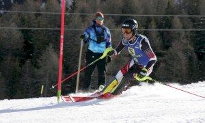 Sci alpino, l'oro di Edoardo Saracco nello Slalom chiude i Campionati Italiani Aspiranti