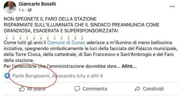 Cuneo, le affinità tra i papabili candidati sindaco corrono su Facebook