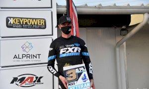 Motocross, Luca Marra conquista la terza posizione a Trofarello nella Veteran MX1