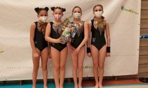 Cuneoginnastica, debutto stagionale per le agoniste Silver di Artistica