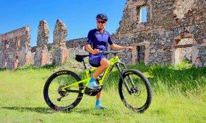 L'Alta Via del Sale su una rivista specializzata per ciclisti con Marta Bassino