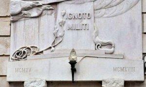 Cuneo, la discussione sulla cittadinanza onoraria al Milite Ignoto approda in Conferenza dei capigruppo