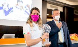 Marta Bassino premiata in Fondazione CRC