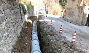 Viabilità, lavori a San Pietro di Monterosso Grana