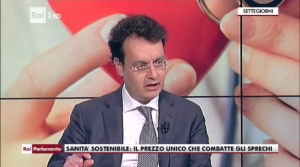 Il Dott. Giuseppe Musumeci al TG1
