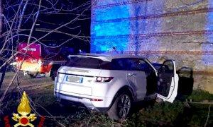 Centallo, incidente mortale in località Boschetti: un fuoristrada si è schiantato contro un muro